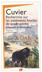 Recherches sur les ossements fossiles de quadrup�des-flammarion-9782081311466