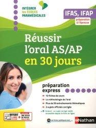 Réussir l'oral AS/AP en 30 jours