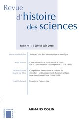 Revue d'histoire des sciences (1/2018) Sciences, pouvoirs et culture matérielle : Le laboratoire dan