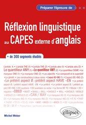 Réflexion linguistique au CAPES externe d'anglais