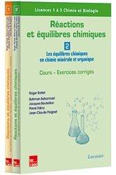 Réactions et équilibres chimiques (les 2 volumes)