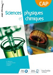 Sciences physiques et chimiques CAP Consommable - Livre élève - Éd. 2018