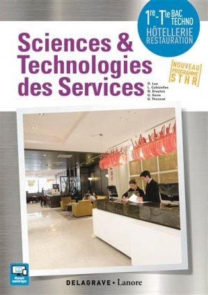 Sciences et technologies des services 1re, Tle Bac STHR (2017) - Pochette élève-delagrave-9782206304069