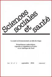 Sciences Sociales et Santé n°3