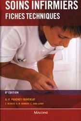 Soins infirmiers fiches techniques-maloine-9782224030988