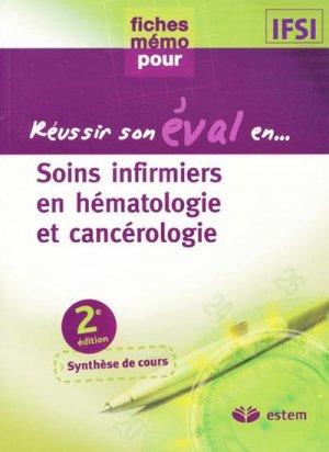 Soins infirmiers en hématologie et cancérologie-estem-9782843714160