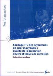 Soudage TIG des tuyauteries en acier inoxydable-cetim-9782854006537