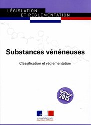 Substances vénéneuses