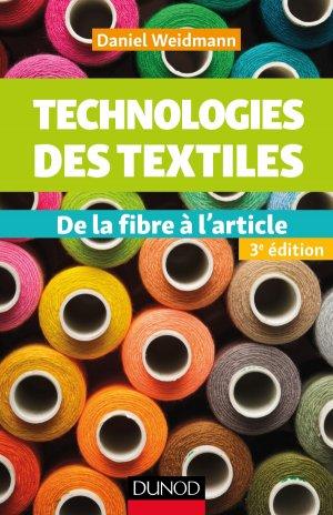 Technologies des textiles-dunod-9782100760190