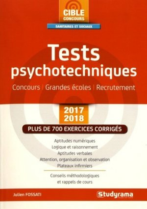 Tests psychotechniques 2017-2018-studyrama-9782759034062