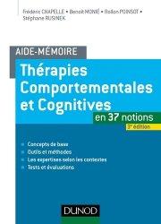 Thérapies comportementales et cognitives