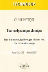 Thermodynamique chimique-ellipses-9782729865016