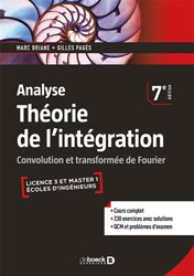 Théorie de l'intégration, analyse