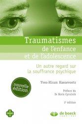 Traumatismes de l'enfance et de l'adolescence