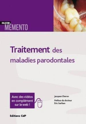 Traitement des maladies parodontales-cdp-9782843613951
