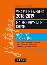 Visa pour la prépa 201862019- Maths-Physique-Chimie