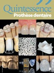ABONNEMENT EUROPE : Revue Quintessence Prothèse dentaire