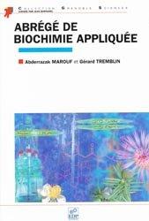 Abrégé de biochimie appliquée