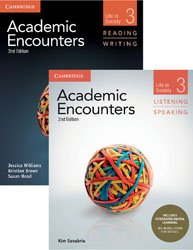 Academic Encounters Level 3 - 2-Book Set : R&W Student's Book with WSI, L&S Student's Book with Integrated Digital Learning