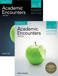 Academic Encounters Level 4 - 2-Book Set : R&W Student's Book with WSI, L&S Student's Book with Integrated Digital Learning