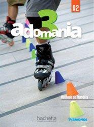 ADOMANIA 3 A2 LIVRE ELEVE + DVD