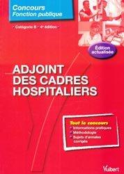Adjoint des cadres hospitaliers Catégorie B