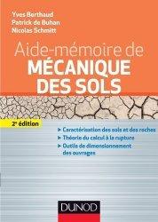 Aide-mémoire de mécanique des sols