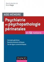 Aide-mémoire - Psychiatrie et psychopathologie périnatales