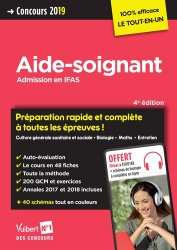 Aide-soignant / admission en IFAS : concours 2019