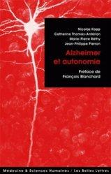 Alzheimer et autonomie
