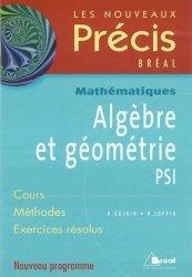 Algèbre et géométrie PSI
