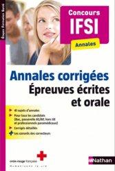 Annales corrigées - Concours IFSI