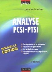 Analyse PCSI - PTSI