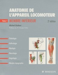 Anatomie de l'appareil locomoteur Pack 3 volumes