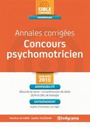 Annales corrigées concours psychomotricien