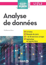 Analyse de données, L1-L2