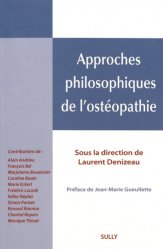 Approches philosophiques de l'ostéopathie