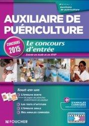 Auxiliaire de puériculture - Concours d'entrée 2015