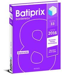 Batiprix 2016 Volume 8