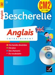 Bescherelle Anglais CM2 avec un CD Audio
