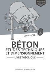 Béton, études techniques et dimensionnement Livre théorique