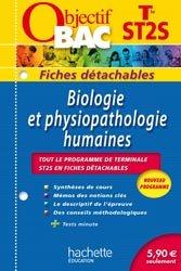 Biologie et physiopathologie humaines Terminale ST2S