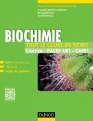 Biochimie - Tout le cours en fiches