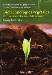 Biotechnologies végétales