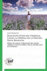 Bioactivité D'extraits Végétaux Contre Le Mildiou De La Morelle Noire Benamira
