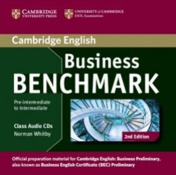Business Benchmark Pre-intermediate to Intermediate Business Preliminary - Class Audio CDs (2)