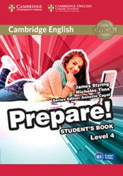 Cambridge English Prepare! Level 4 - Student's Book