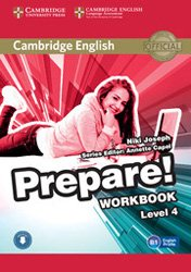 Cambridge English Prepare! Level 4 - Workbook with Audio