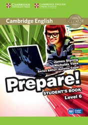 Cambridge English Prepare! Level 6 - Student's Book