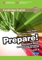 Cambridge English Prepare! Level 6 - Teacher's Book with DVD and Teacher's Resources Online